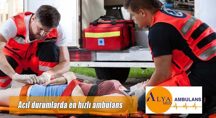 Acil durumlarda en hızlı ambulans