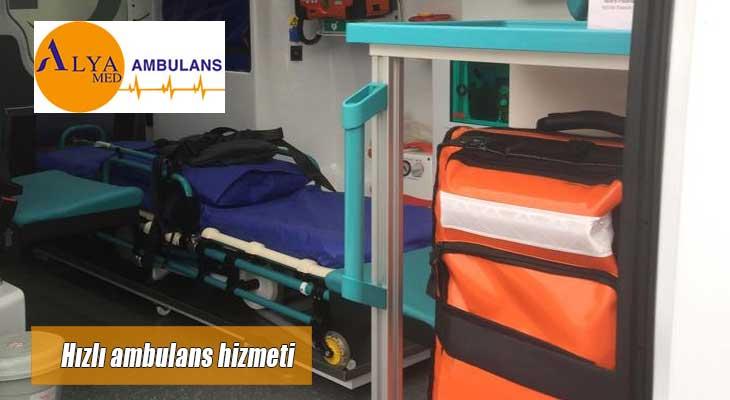 Hızlı ambulans hizmeti