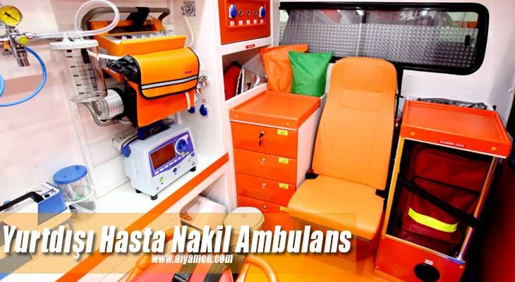 Yurtdışı Hasta Nakil Ambulans Hizmetleri