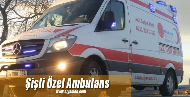 şişli özel ambulans