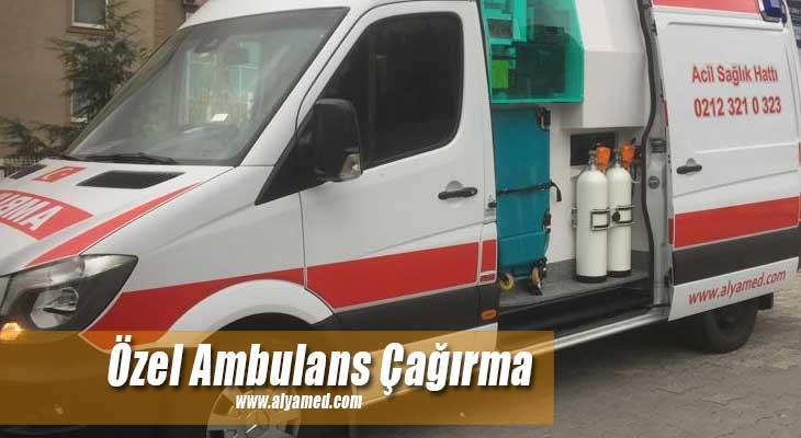 özel ambulans çağırma