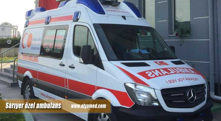 sarıyer özel ambulans