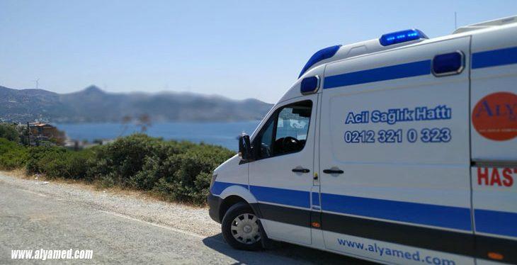 bodrum özel ambulans