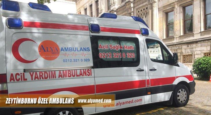 zeytinburnu özel ambulans