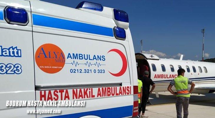 bodrum hasta nakil ambulansı