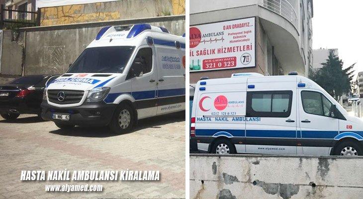 hasta nakil ambulansı kiralama