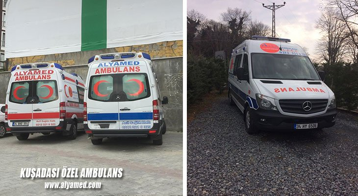 kuşadası özel ambulans