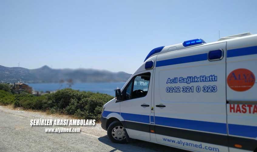 şehirler arası ambulans