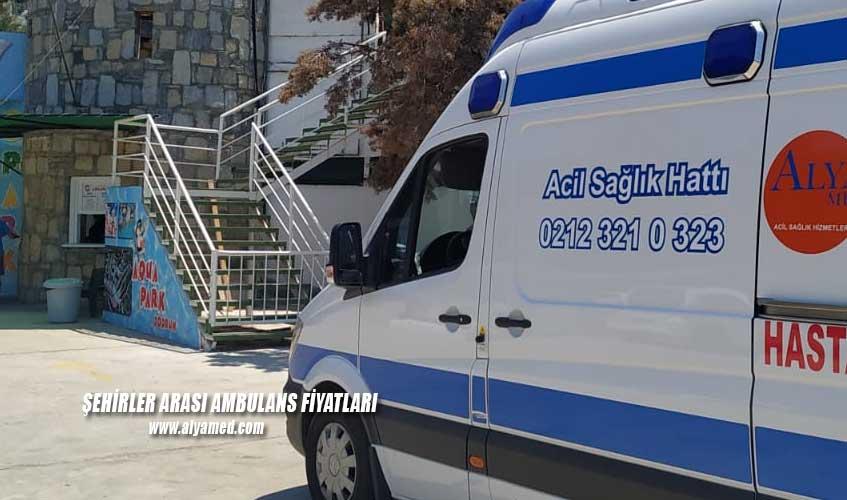 şehirler arası ambulans fiyatları