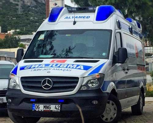 özel hasta nakil ambulansı