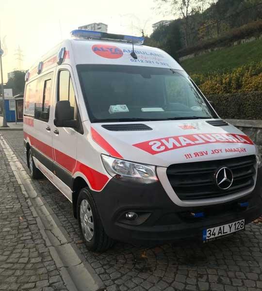 avrupa yakası özel ambulans
