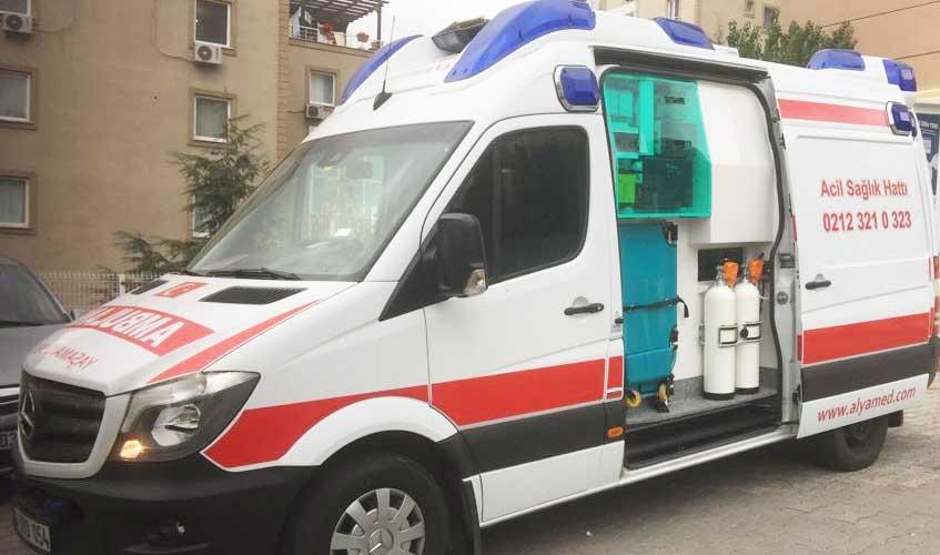 Gebze Hasta Nakil Ambulans