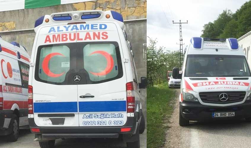 gebze özel ambulans