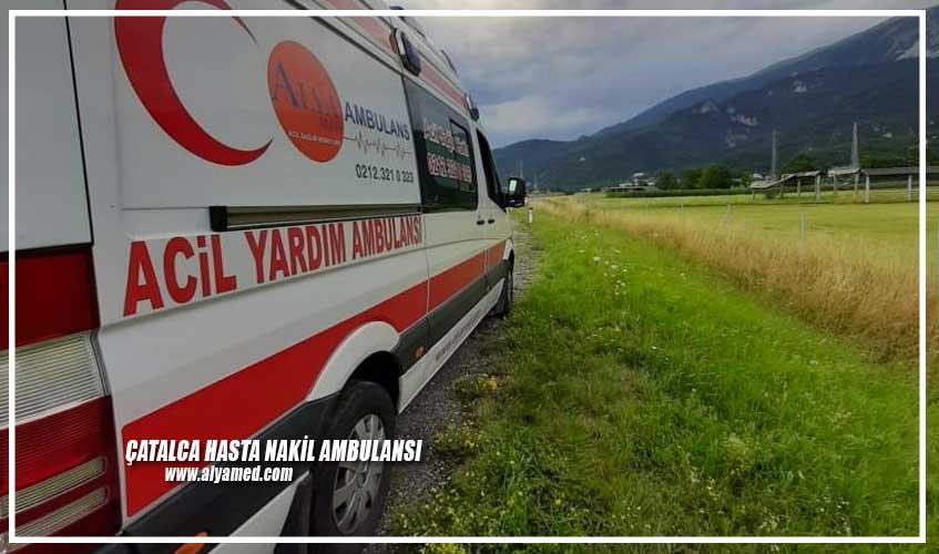 Çatalca Hasta Nakil Ambulansı
