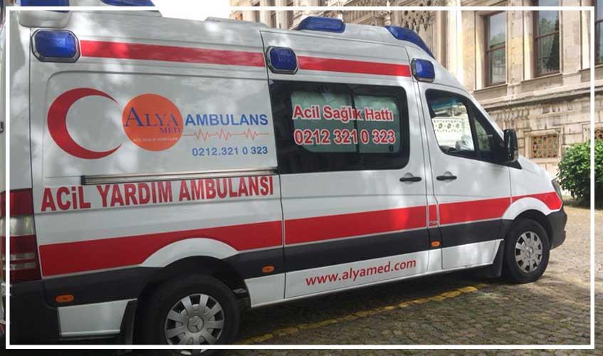 bahçelievler hasta nakil ambulansı