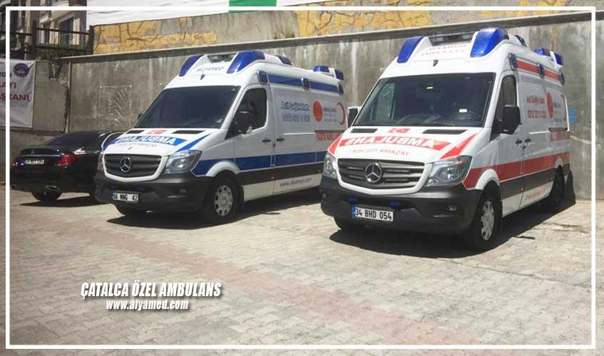 çatalca özel ambulans